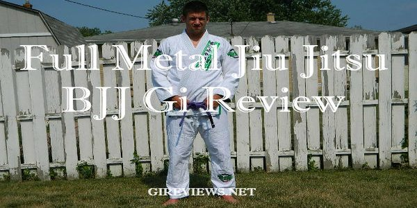 Full Metal Jiu Jitsu BJJ Gi Review