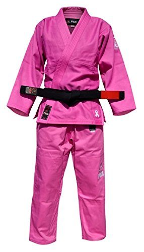 Fuji-single-weave-womens-gi-pink