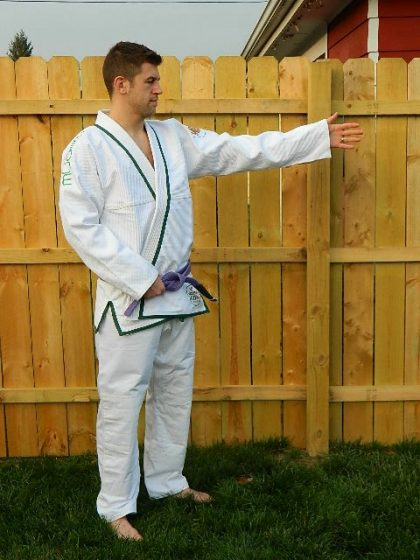 modern flow ranger bjj gi side