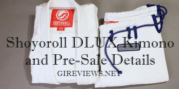 Shoyoroll DLUX Kimono and Pre-Sale Details