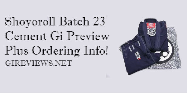 Shoyoroll Batch 23 Cement Gi
