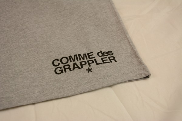 CDG X Shirt label