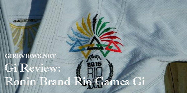 Ronin Brand Rio Games Gi Review