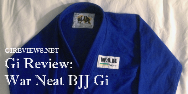 War Neat BJJ Gi Review