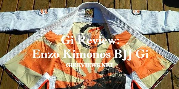 Enzo Kimonos Brazilian Jiu Jitsu Gi Review