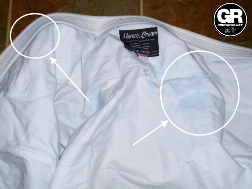 groundwork bjj gi review color bleed 1
