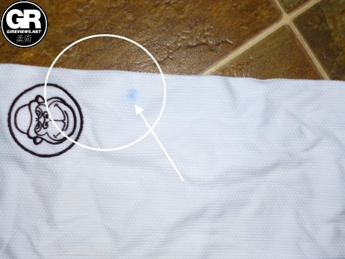 groundwork bjj gi review color bleed 3