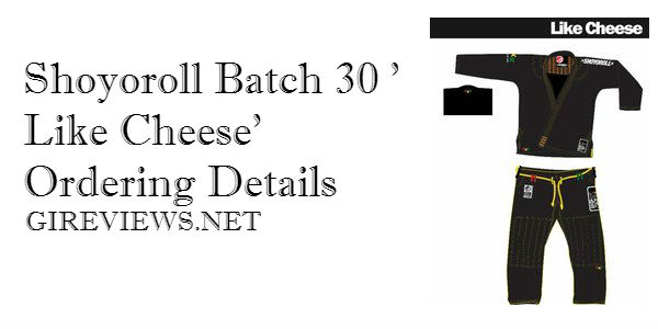Shoyoroll Batch 30 'Like Cheese'
