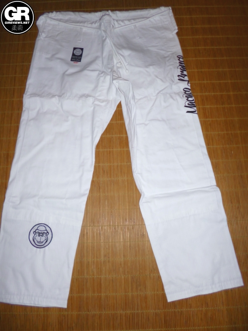 macaco branco gi review pants