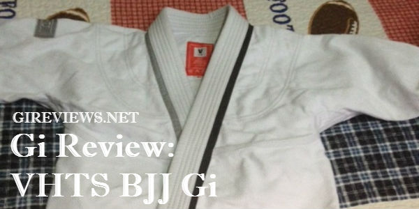 VHTS BJJ Gi Review