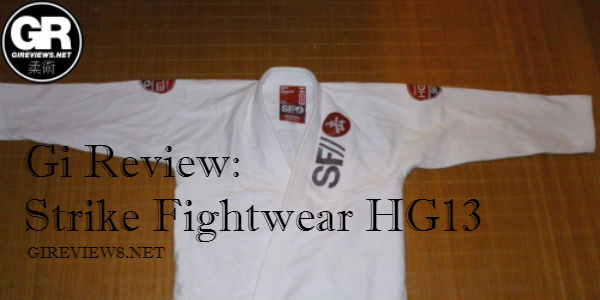 Gi Review: Strike Fightwear HG13
