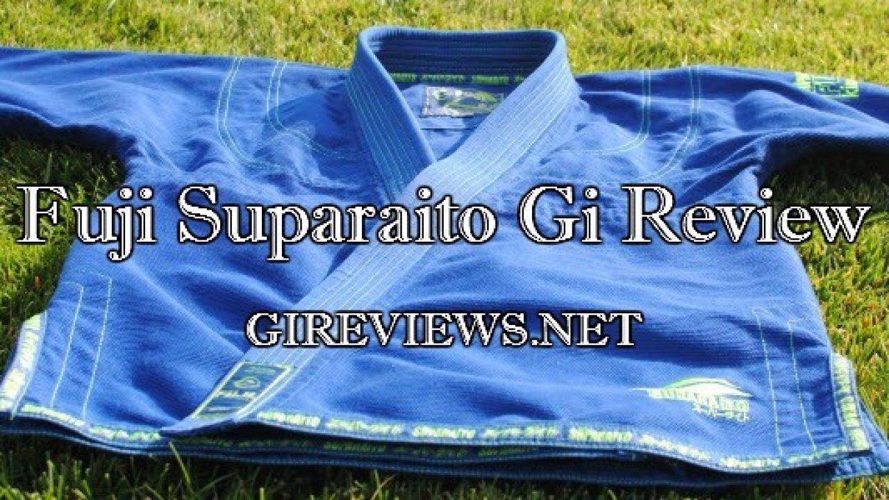 Gi Review - Fuji Suparaito BJJ Gi | Brazilian Jiu Jitsu Gi