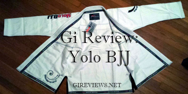 Yolo BJJ gi review
