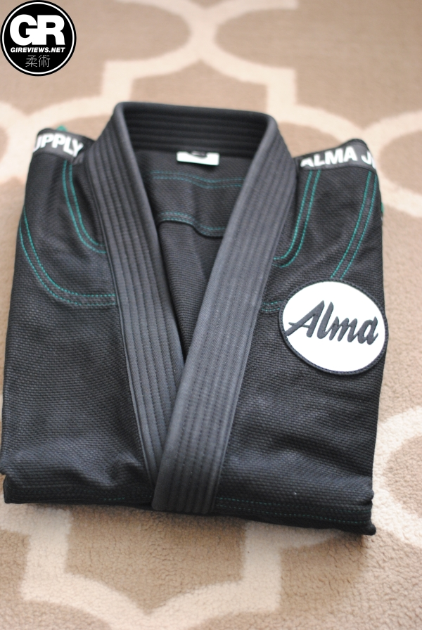 alma jiu jitsu kimonos gi review black jacket