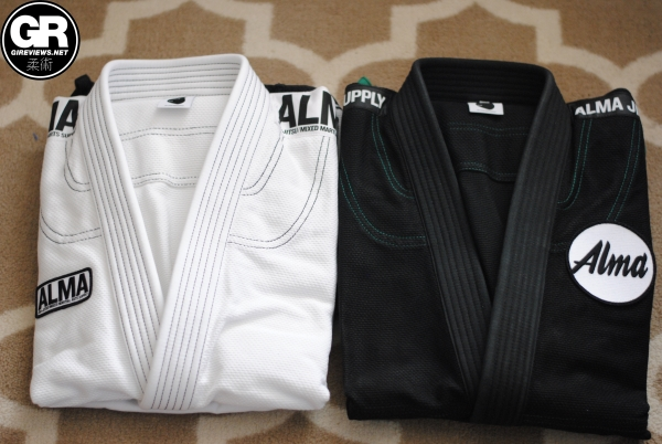 alma jiu jitsu kimonos gi review duel jackets