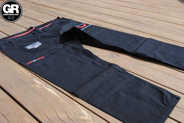 vandal kimonos bjj gi review pro g4 trousers pants