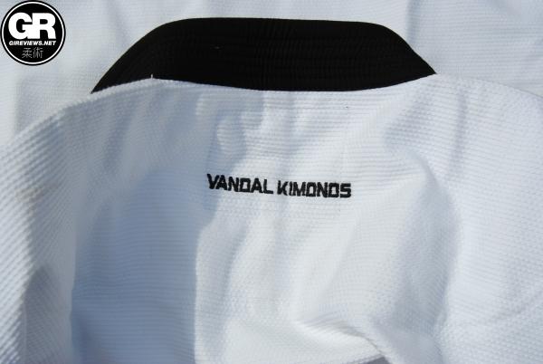 vandal kimonos bjj gi review pro g4 upper back embroidery