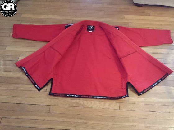 KO Sports Gear Red Gi Review (6)