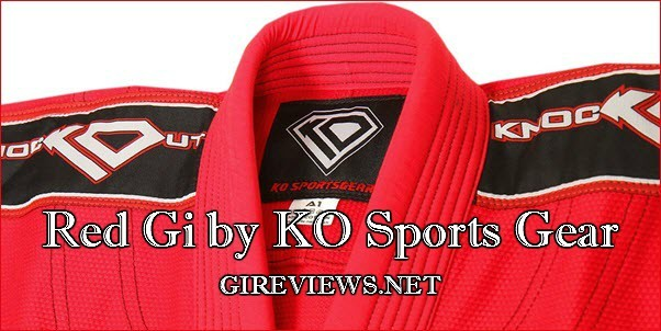 Review of Red Gi by KO Sports Gear