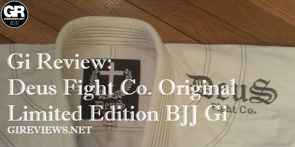 Deus Fight Co. Original Limited Edition BJJ Gi: A Great Gi For The Christian grappler