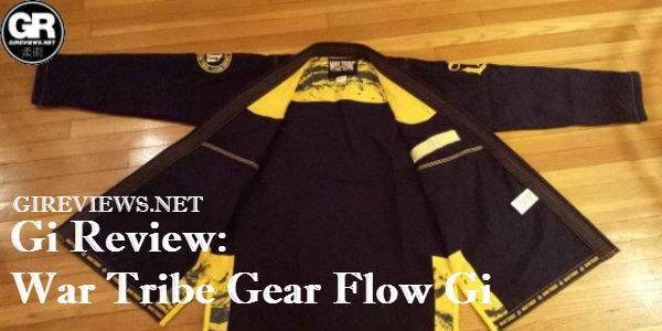 War Tribe Gear Flow Gi Review