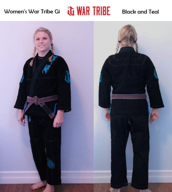 Women's War Tribe Gi Black and Teal