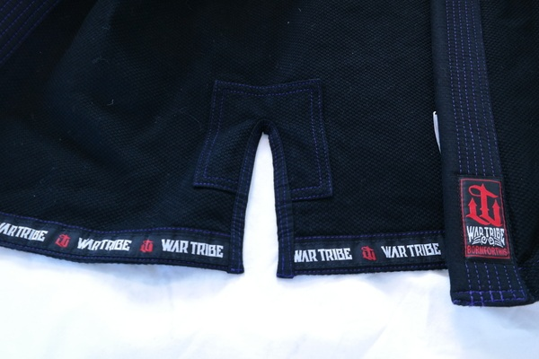 war tribe women's gi black and purple review