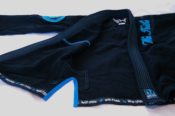 war tribe women's gi black and teal review