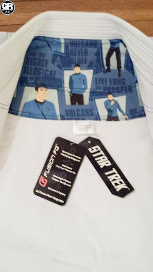 Fusion Fight Gear Mr Spock Gi - jacket (2)