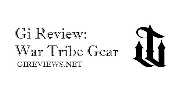 Gi Review: War Tribe Gear