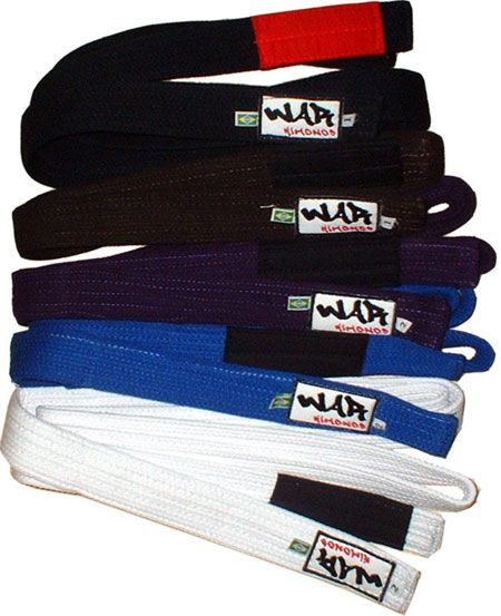 War BJJ Belts