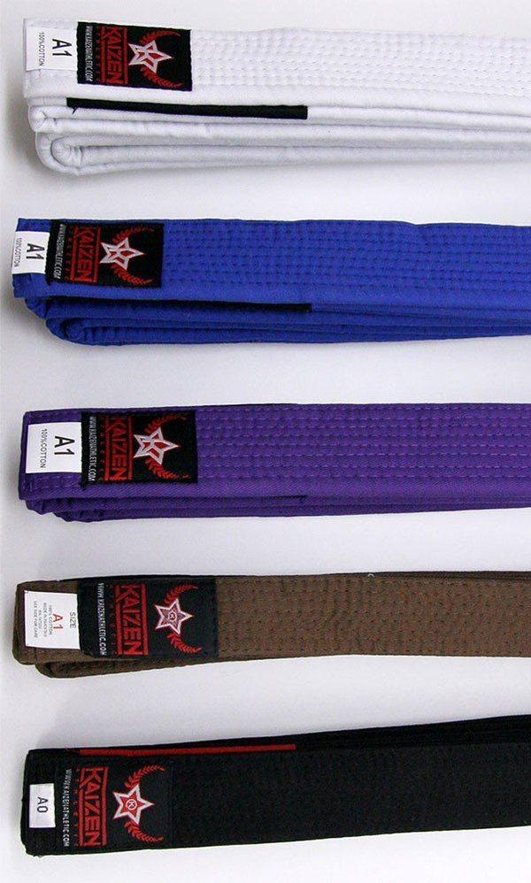 Kaizen BJJ Belts