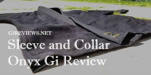 Sleeve And Collar Onyx Gi: A Fresh Approach To The Basics