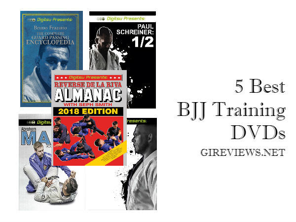 5 Best BJJ Training DVDs