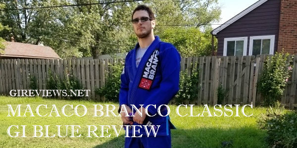 Macaco Branco Classic Gi Blue Review