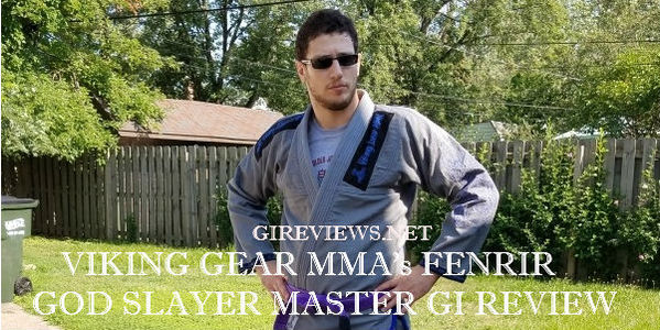 Viking Gear MMA Fenrir God Slayer Master Gi