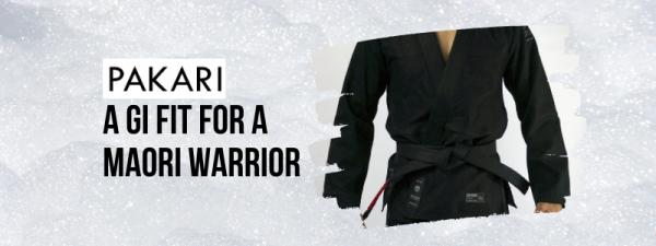 pakari maori warrior gi